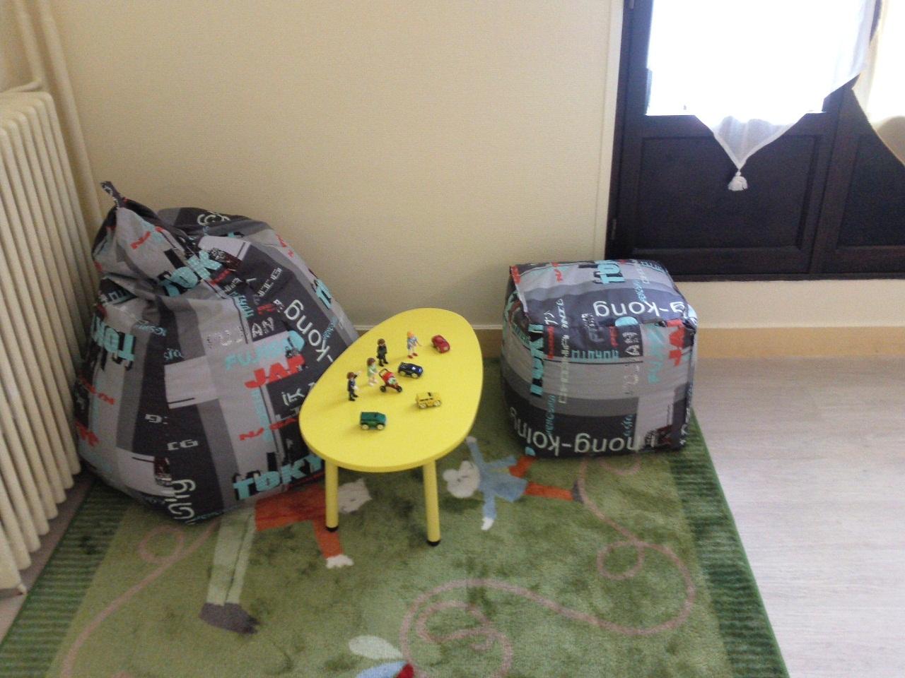 Espace jeux pour les enfants